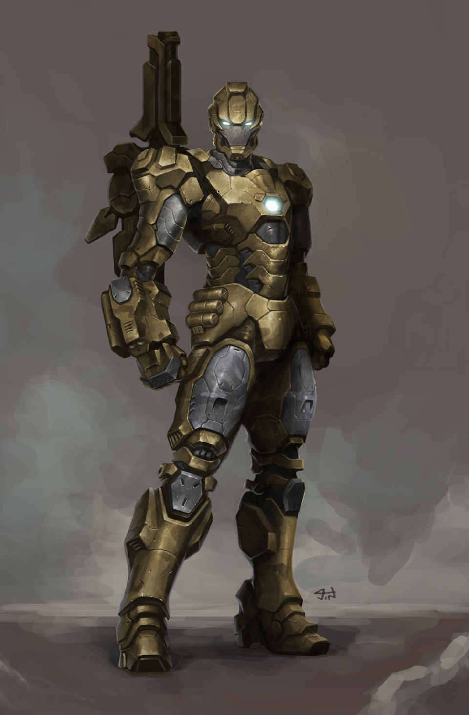 coldstrokes :: fan art : iron patriot (iron man 3)